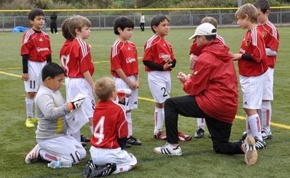 Nogometni trener in načela dela z otroki