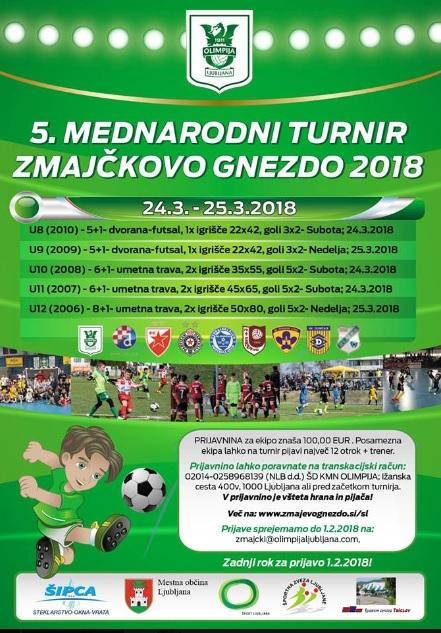 5.mednarodni turnir ZMAJEVO GNEZDO 2018