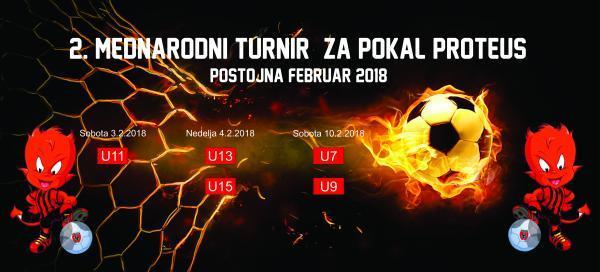 POKAL PROTEUS 2. MALO-NOGOMETNI MEDNARODNI TURNIR POSTOJNA 2018
