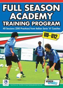 Letni program treningov za selekcije U9-12 trenerjev italijanske serije