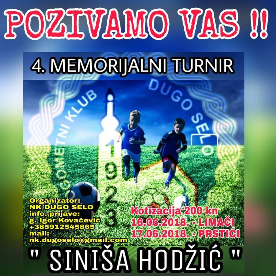Memorijalni turnir Siniša Hodžić