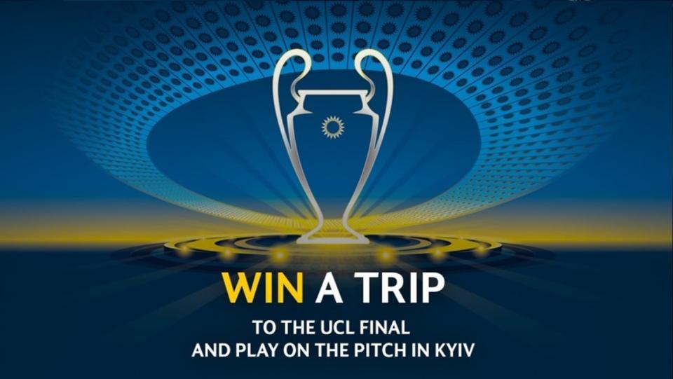 Osvojite VIP izlet na finalno tekmo UEFA Lige prvakov 2018