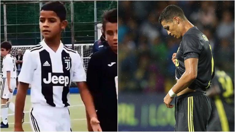 Ronaldov sin blestel v selekciji Juventusa