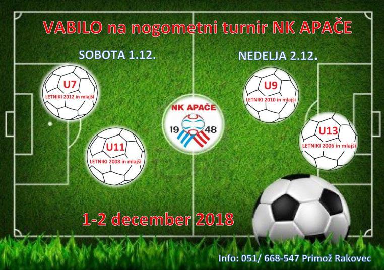 Nogometni turnir NK Apače 2018